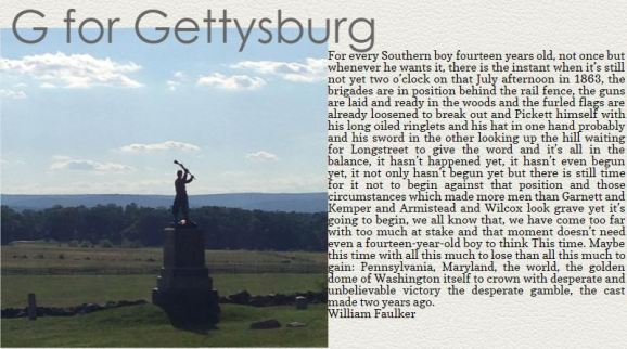 Gettysburg, my favorite battlefield
