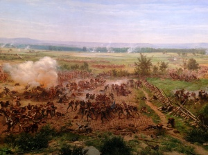 The Gettysburg Cyclorama, an awesome historical artifact.