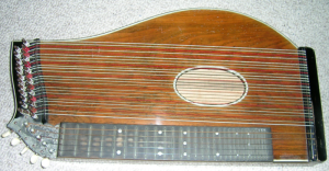 Zither in the A to Z challenge on Spikey Katfish