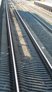 Train tracks always make me think of routes and journeys (and country music, but that's a different blog post).