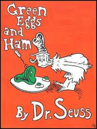 Ham, Green Eggs, and Stream of ConsciousnessSaturday