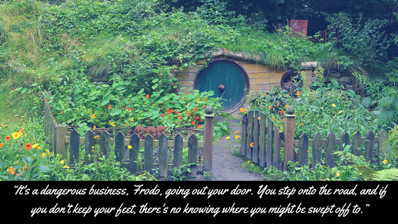 bilbo road quote