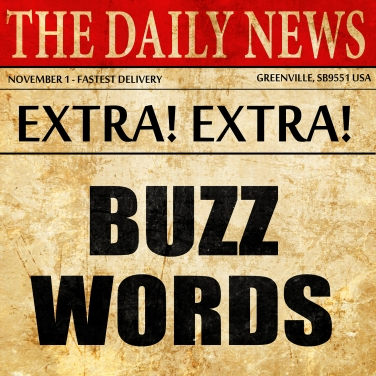 buzzword, newspaper article text