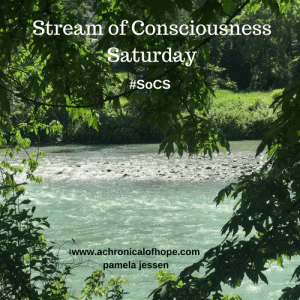 Stream of Consciousness Saturday from Linda G. Hill -- Gently
